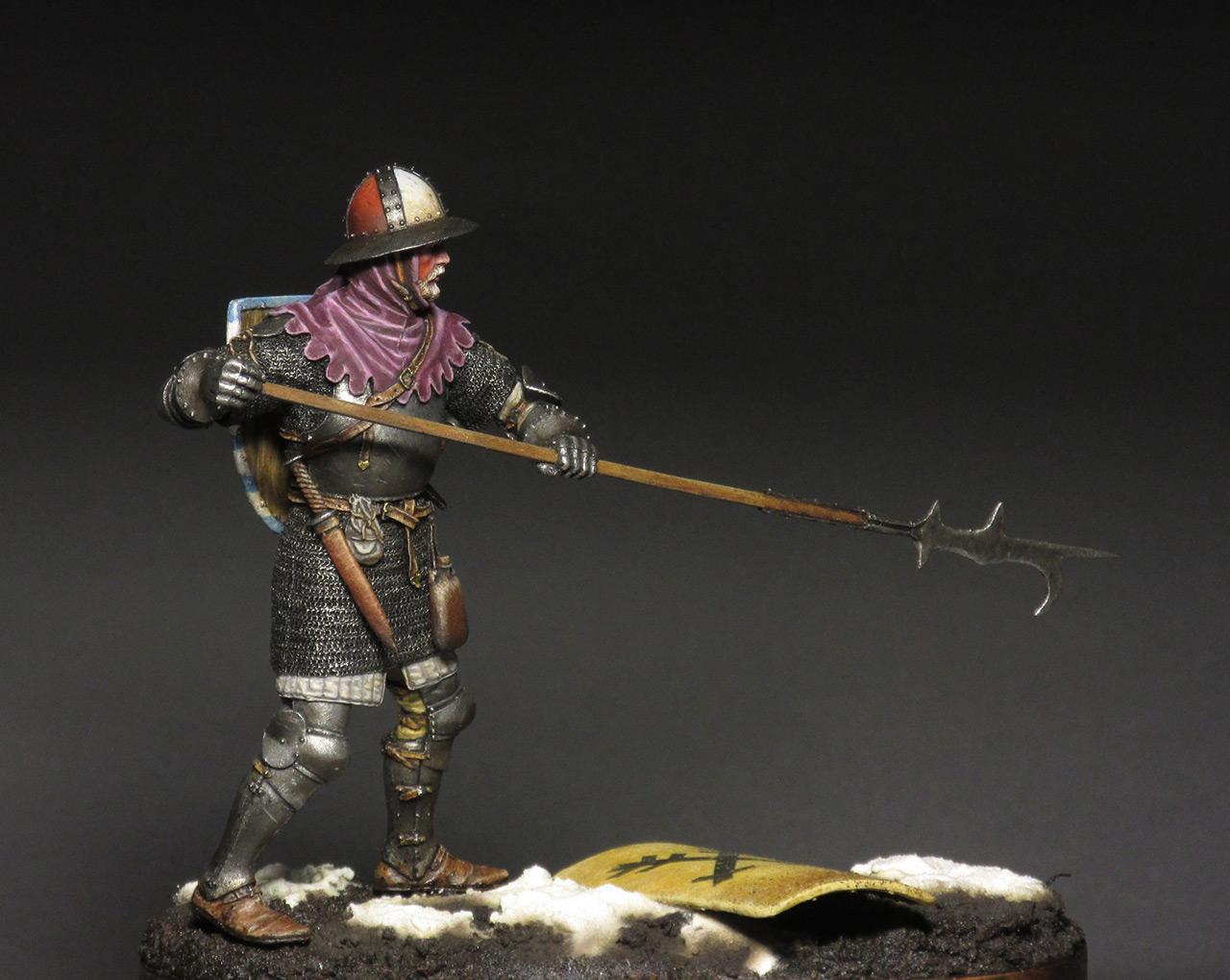 Figures: Medieval infantryman, photo #4