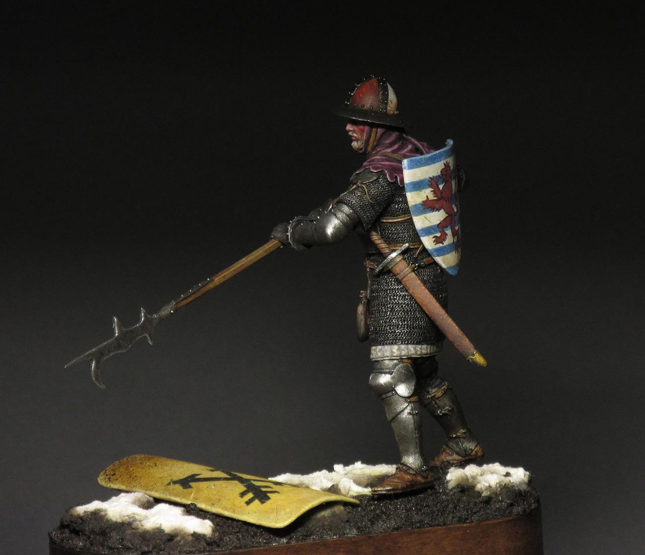 Figures: Medieval infantryman, photo #8