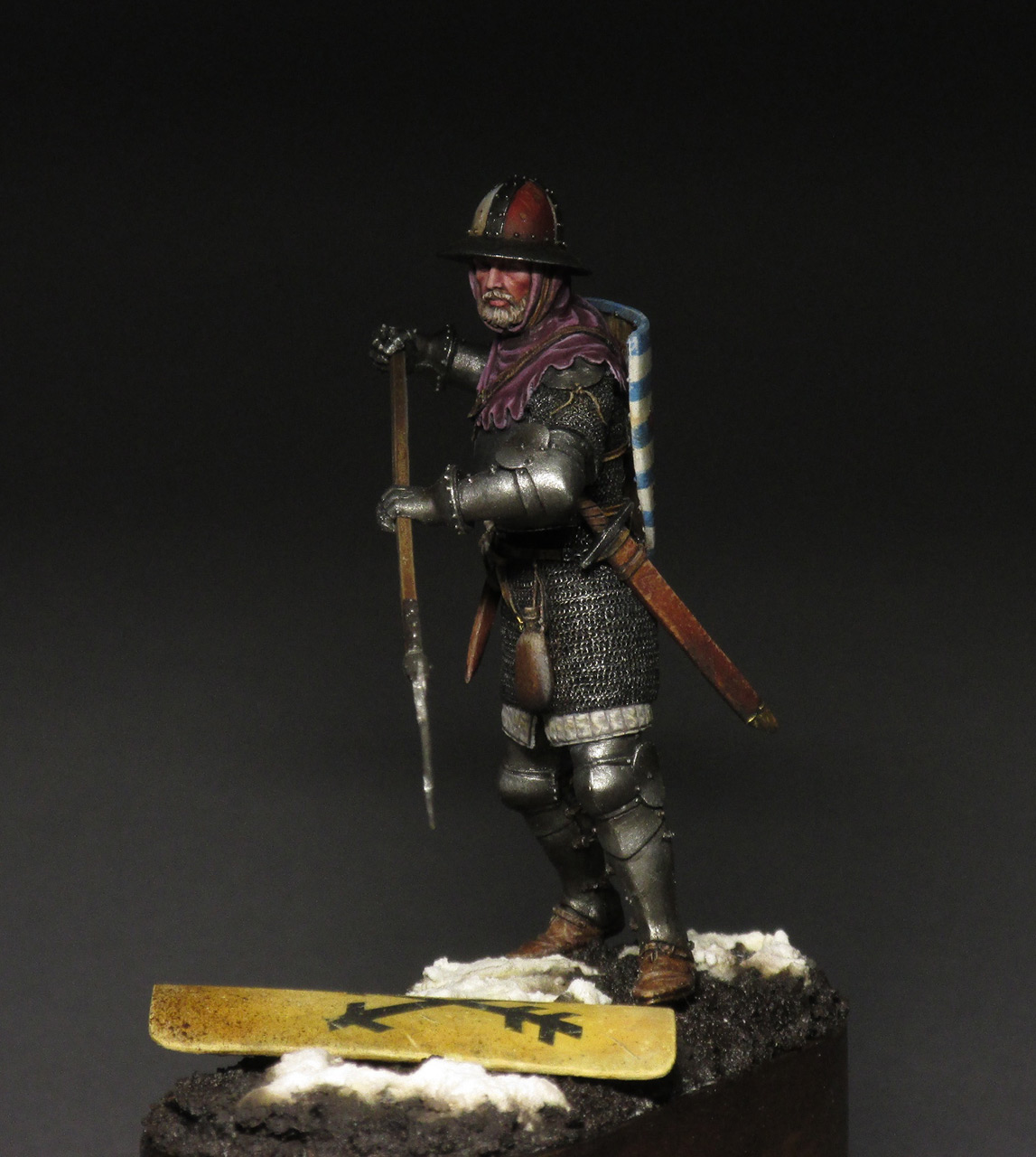 Figures: Medieval infantryman, photo #9
