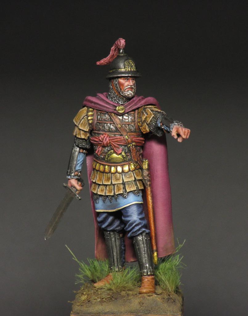 Figures: Byzantine commander, photo #1