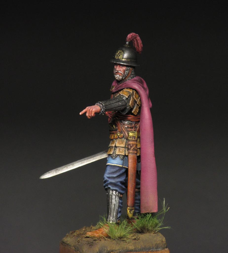 Figures: Byzantine commander, photo #7