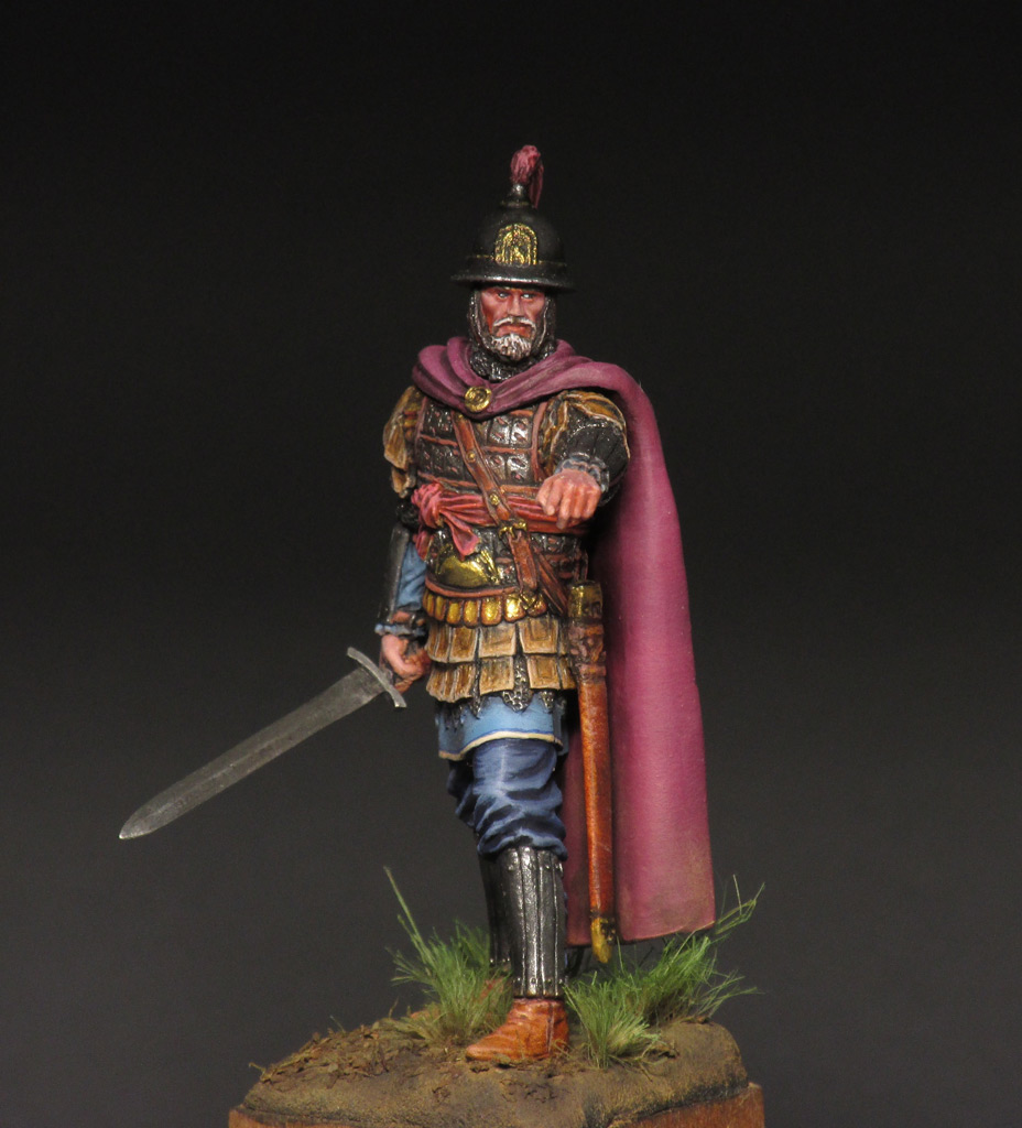 Figures: Byzantine commander, photo #8