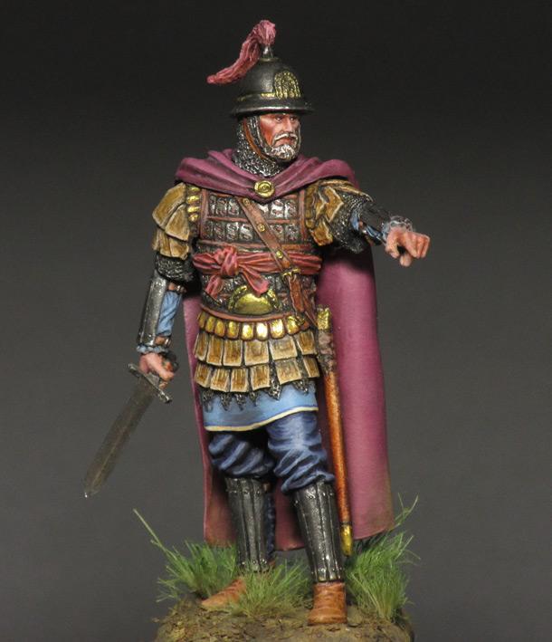 Figures: Byzantine commander