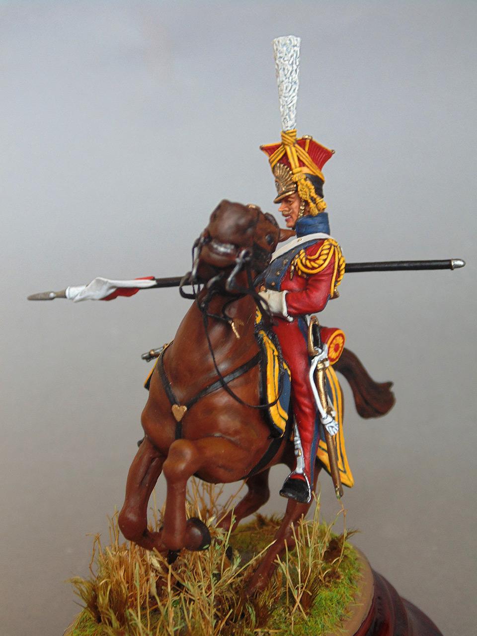 Sculpture: Red lancer, photo #4