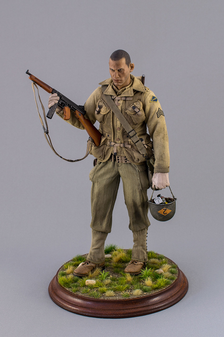 Figures: Sergeant, 2nd rangers, France 1944, photo #10