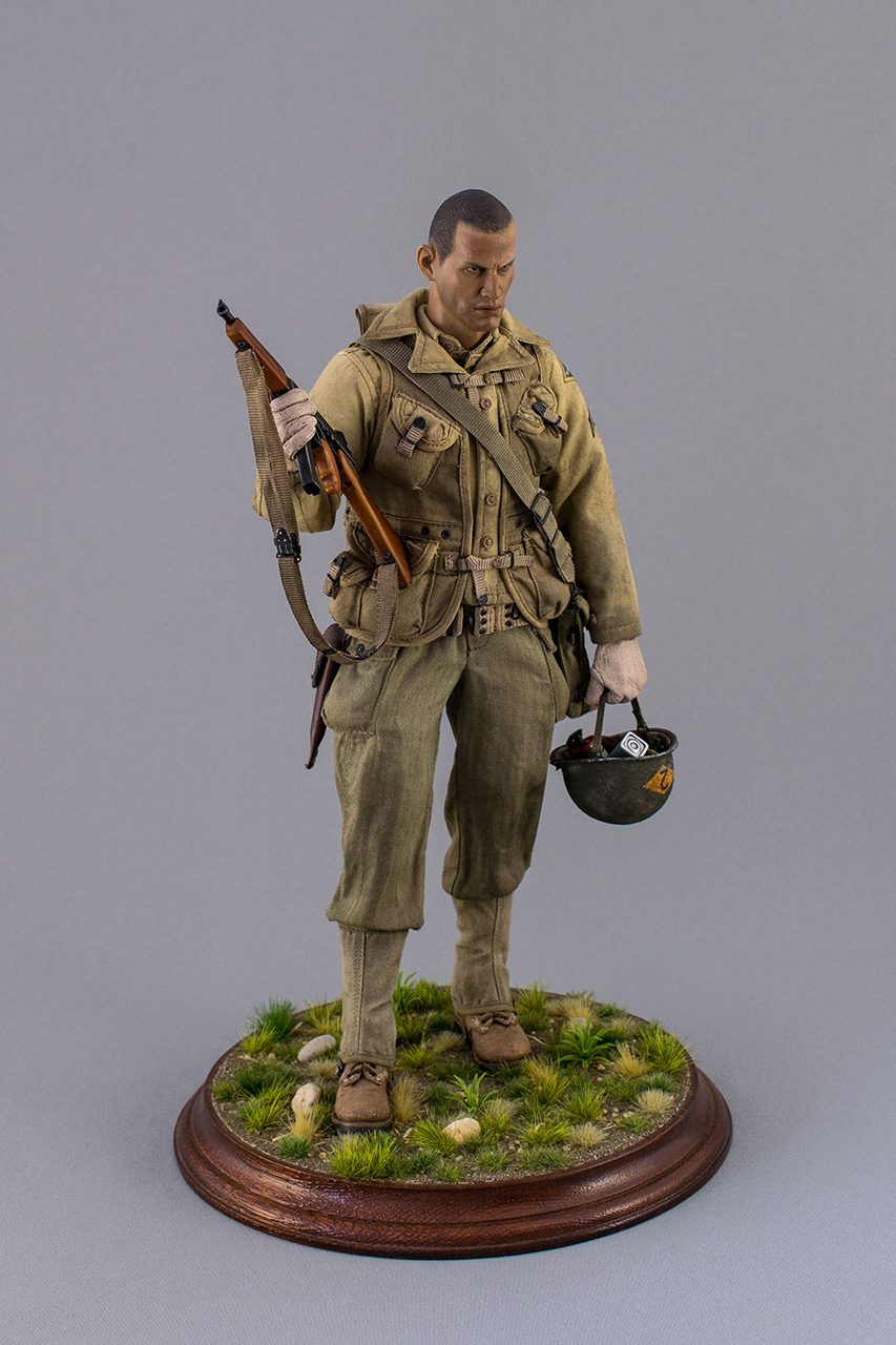 Figures: Sergeant, 2nd rangers, France 1944, photo #2