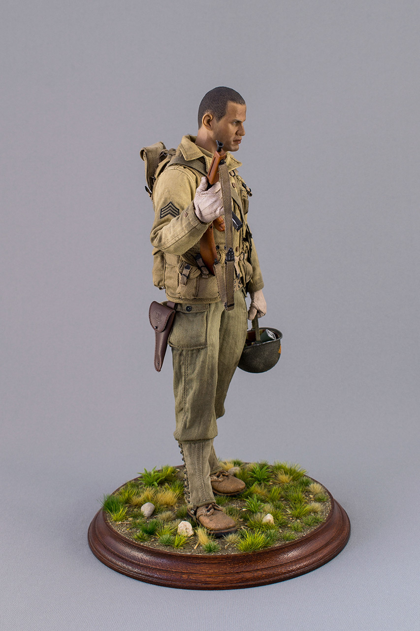 Figures: Sergeant, 2nd rangers, France 1944, photo #3