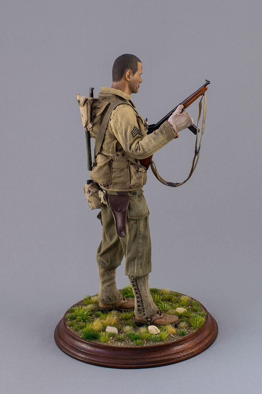 Figures: Sergeant, 2nd rangers, France 1944, photo #4