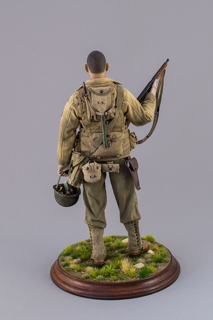 Figures: Sergeant, 2nd rangers, France 1944, photo #6