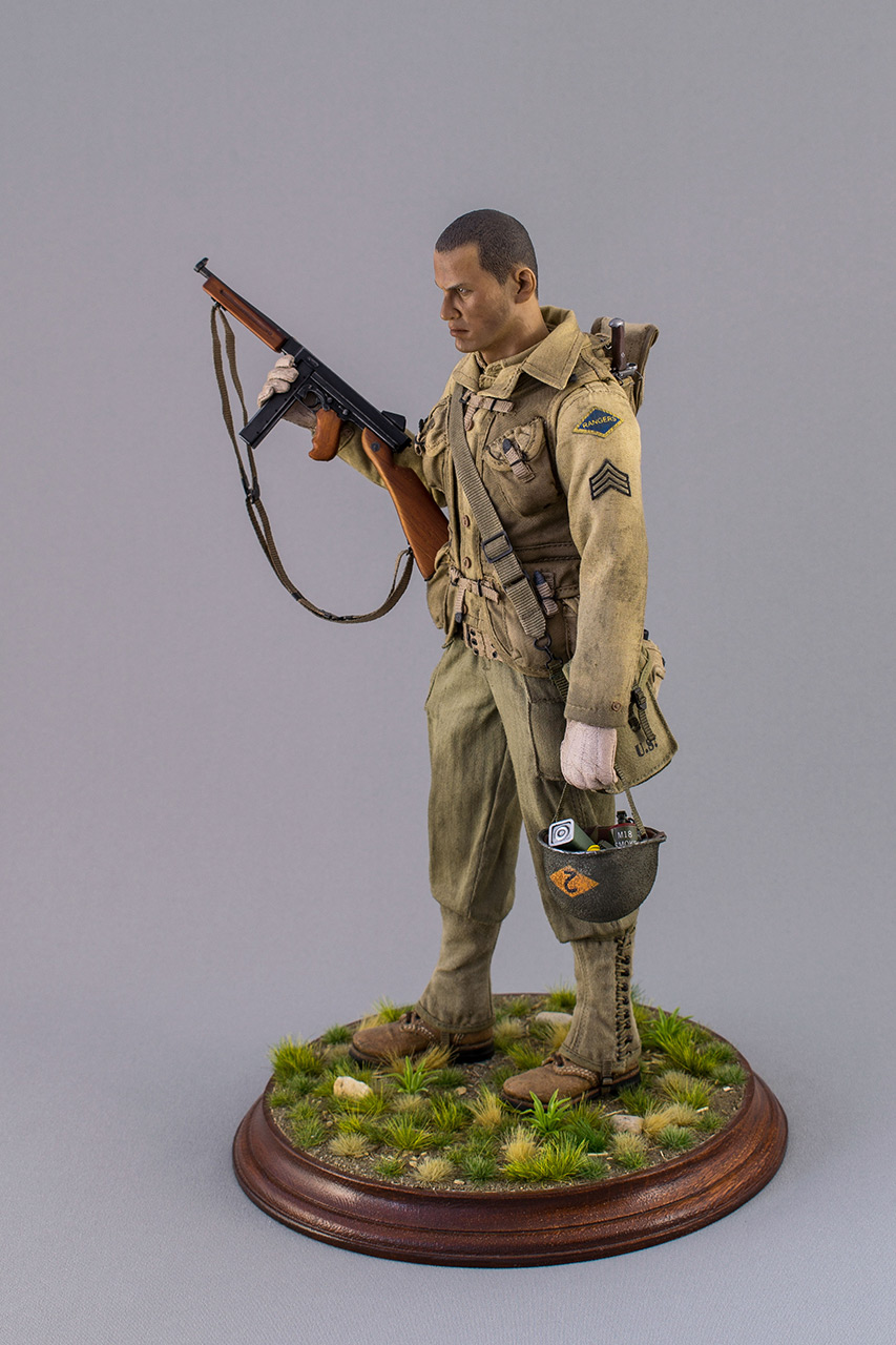 Figures: Sergeant, 2nd rangers, France 1944, photo #9