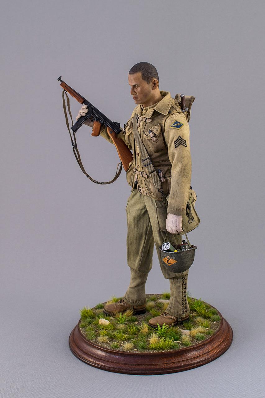 Figures: Sergeant, 2nd rangers, France 1944, photo #9