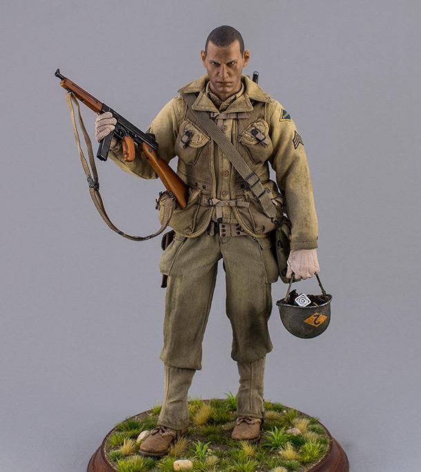 Figures: Sergeant, 2nd rangers, France 1944