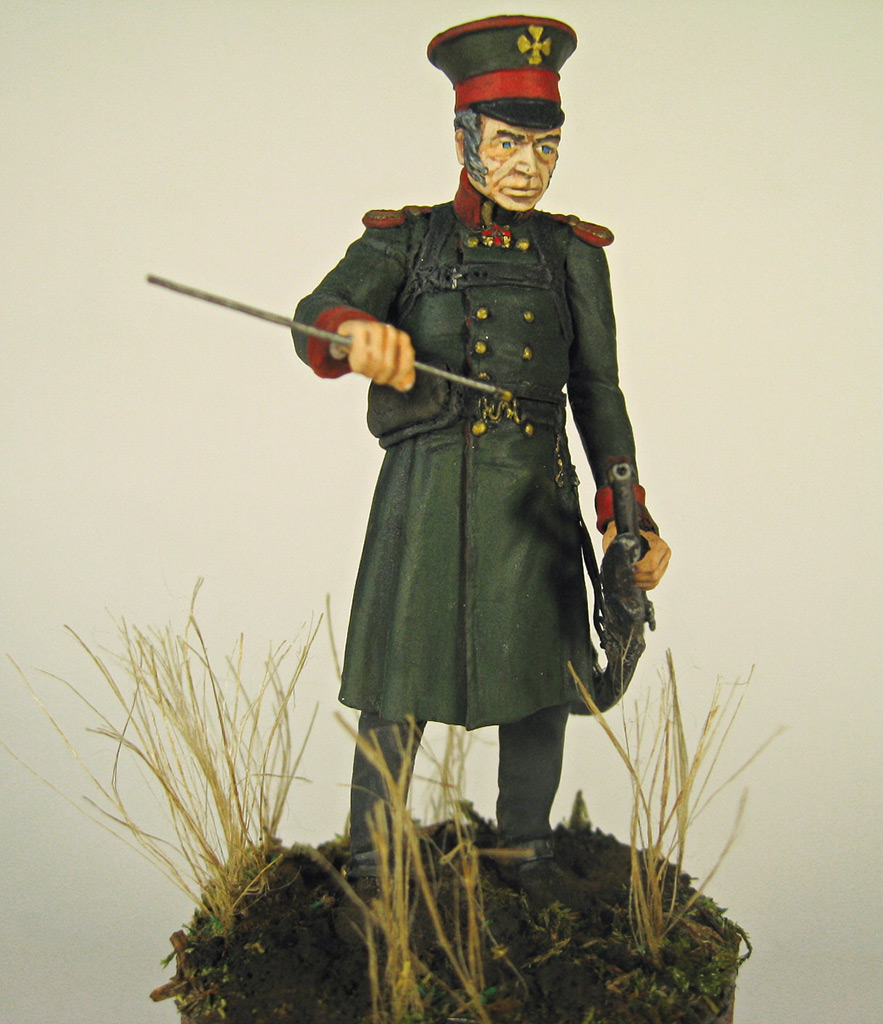 Figures: Senior officer, St.Petersburg home guard, photo #11