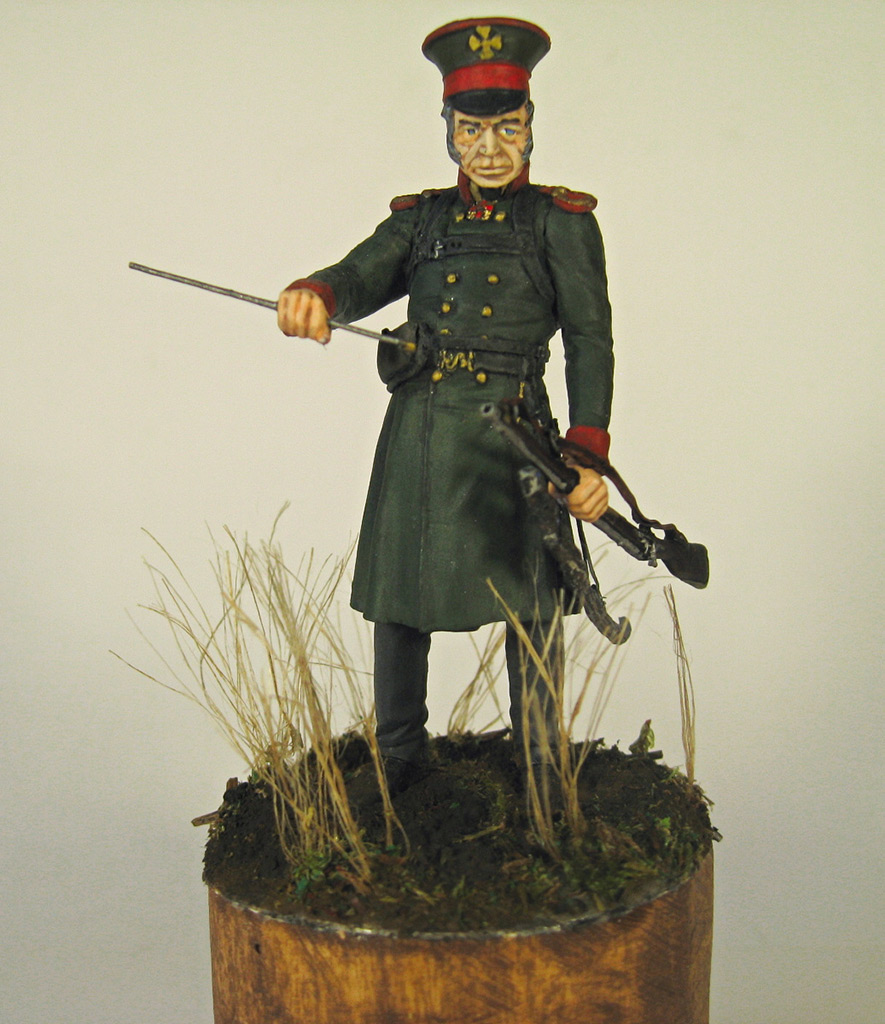 Figures: Senior officer, St.Petersburg home guard, photo #7