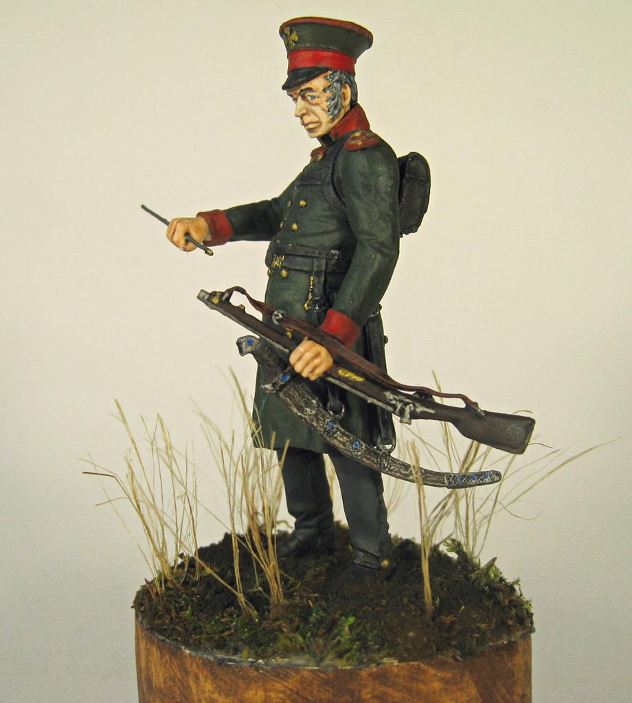Figures: Senior officer, St.Petersburg home guard, photo #8