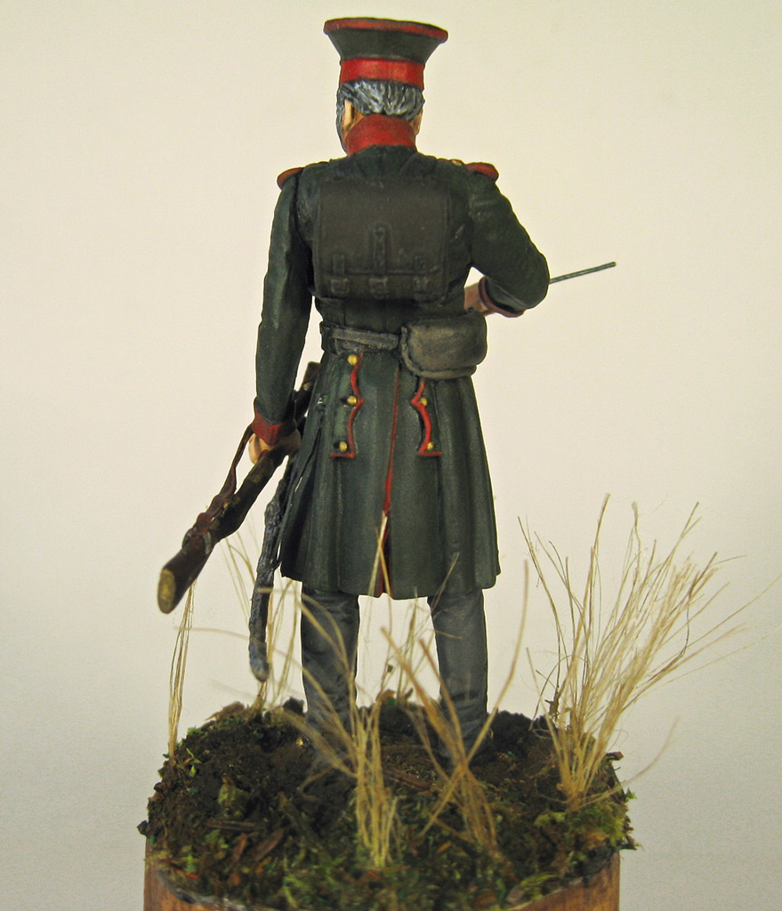 Figures: Senior officer, St.Petersburg home guard, photo #9