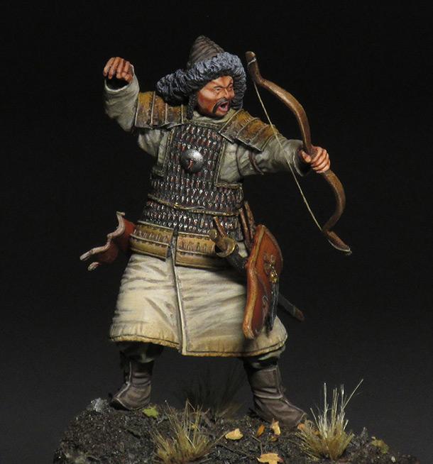 Figures: Mongol archer