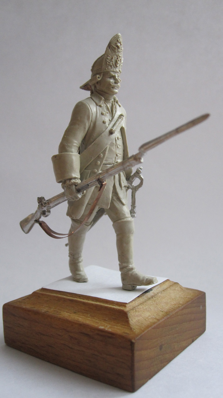 Sculpture: Grenadier. Russia, 1759, photo #3