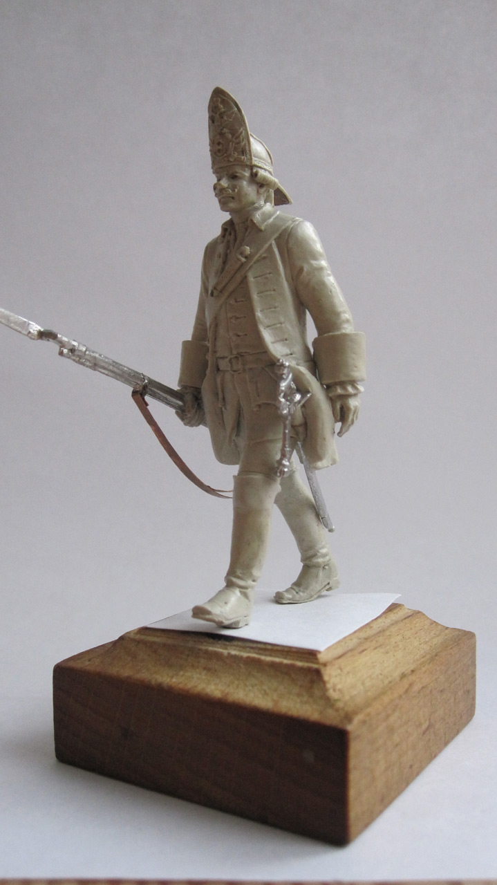 Sculpture: Grenadier. Russia, 1759, photo #5