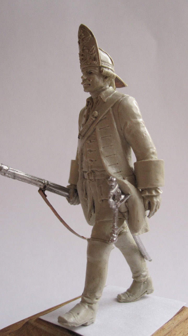 Sculpture: Grenadier. Russia, 1759, photo #6