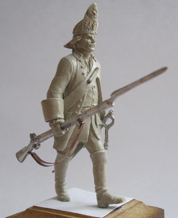 Sculpture: Grenadier. Russia, 1759