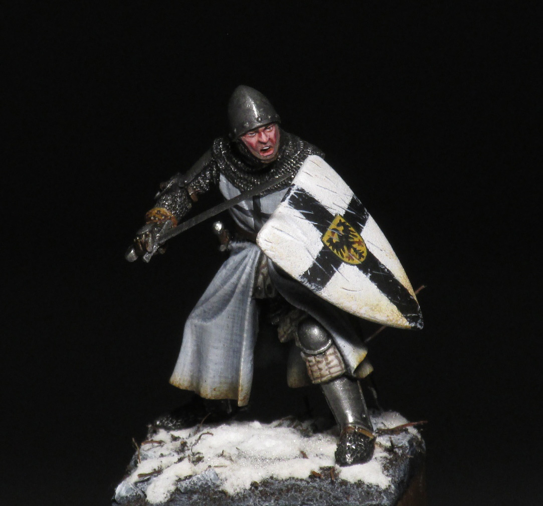 Figures: Teutonic knight, photo #1