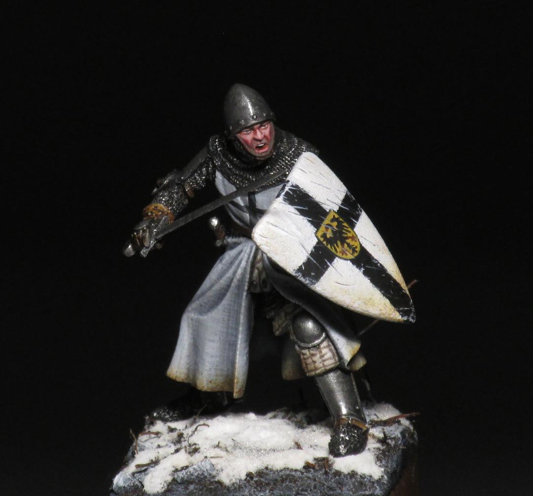 Figures: Teutonic knight, photo #1