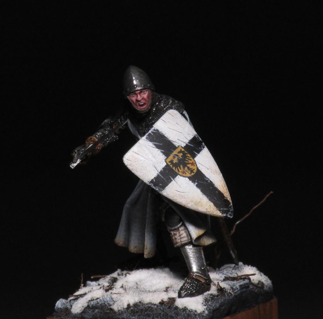 Figures: Teutonic knight, photo #2