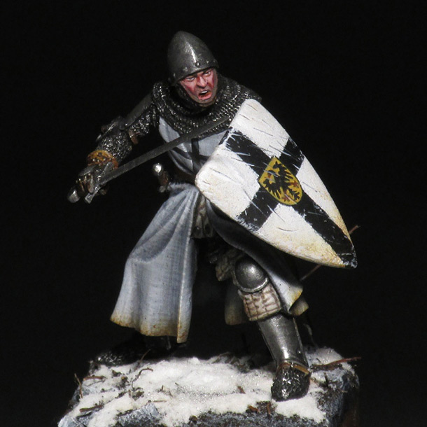 Figures: Teutonic knight