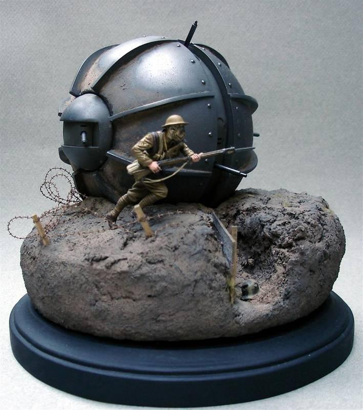 Dioramas and Vignettes: Tumbleweed Tank, photo #1
