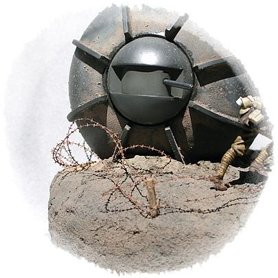 Dioramas and Vignettes: Tumbleweed Tank, photo #4