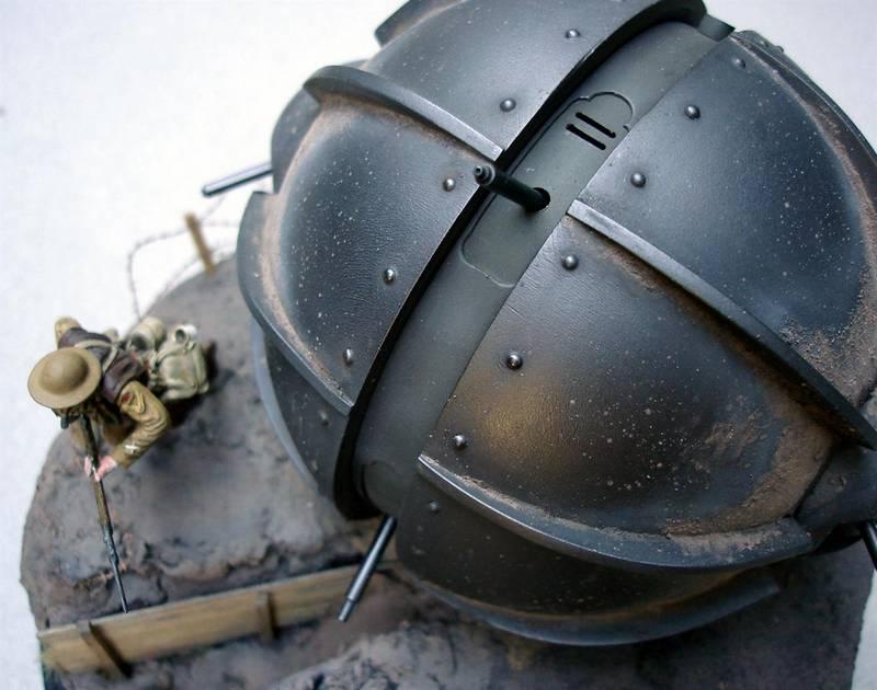 Dioramas and Vignettes: Tumbleweed Tank, photo #5