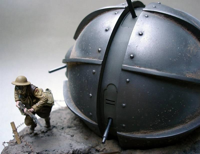 Dioramas and Vignettes: Tumbleweed Tank, photo #6