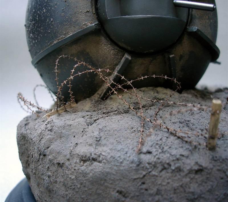 Dioramas and Vignettes: Tumbleweed Tank, photo #7