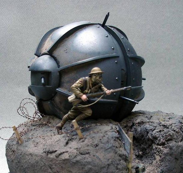 Dioramas and Vignettes: Tumbleweed Tank