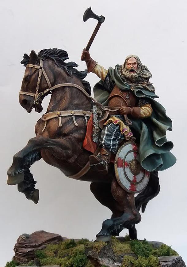 Dioramas and Vignettes: Fantasy viking