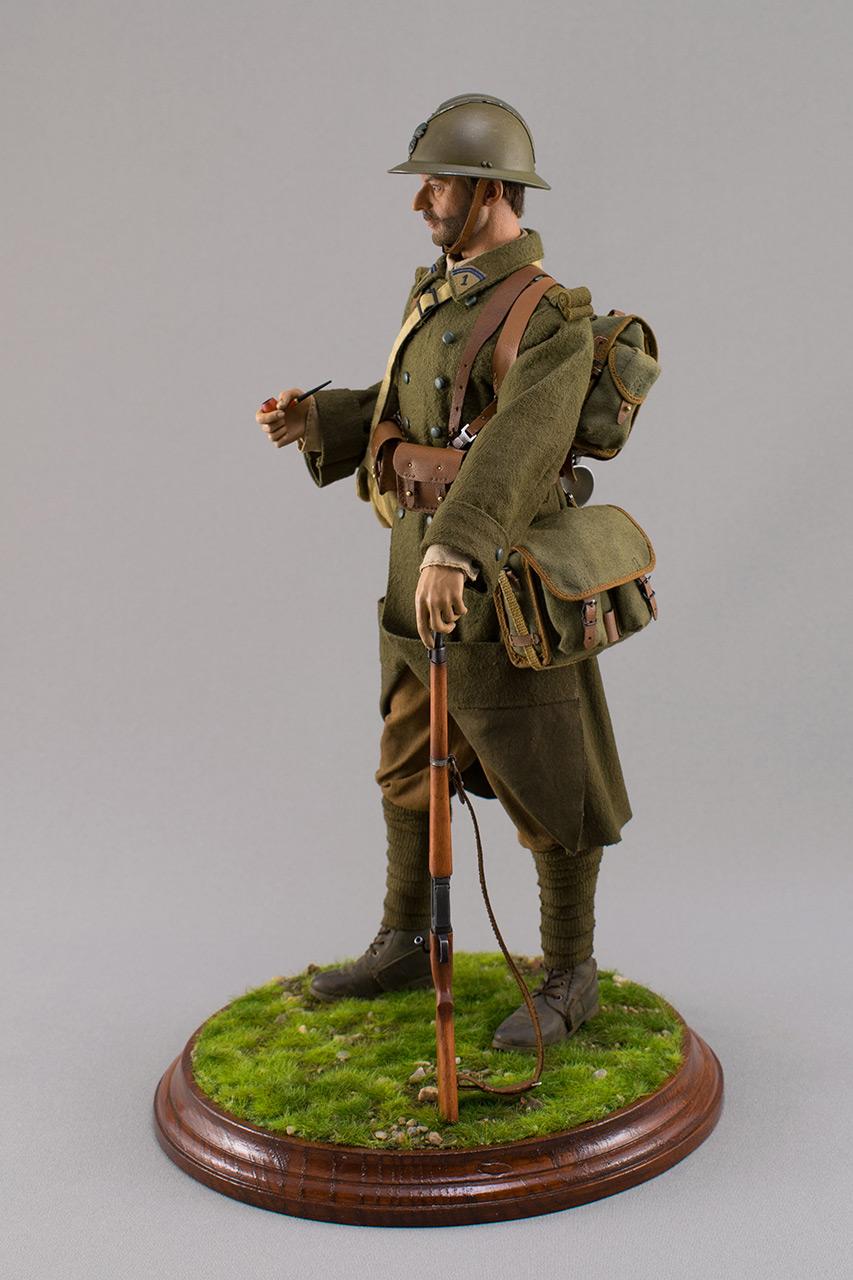 Figures: Infantryman, French army, 1940, photo #10