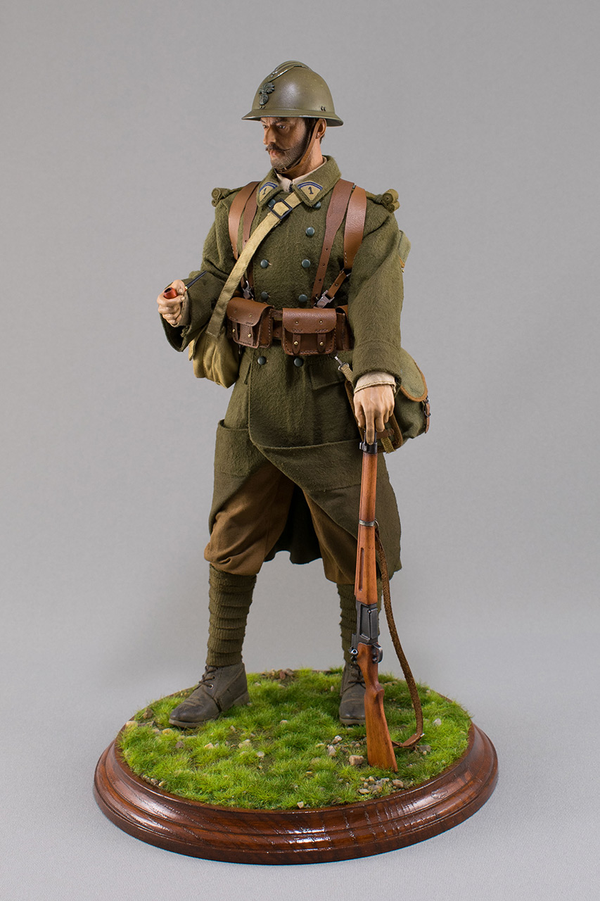 Figures: Infantryman, French army, 1940, photo #11