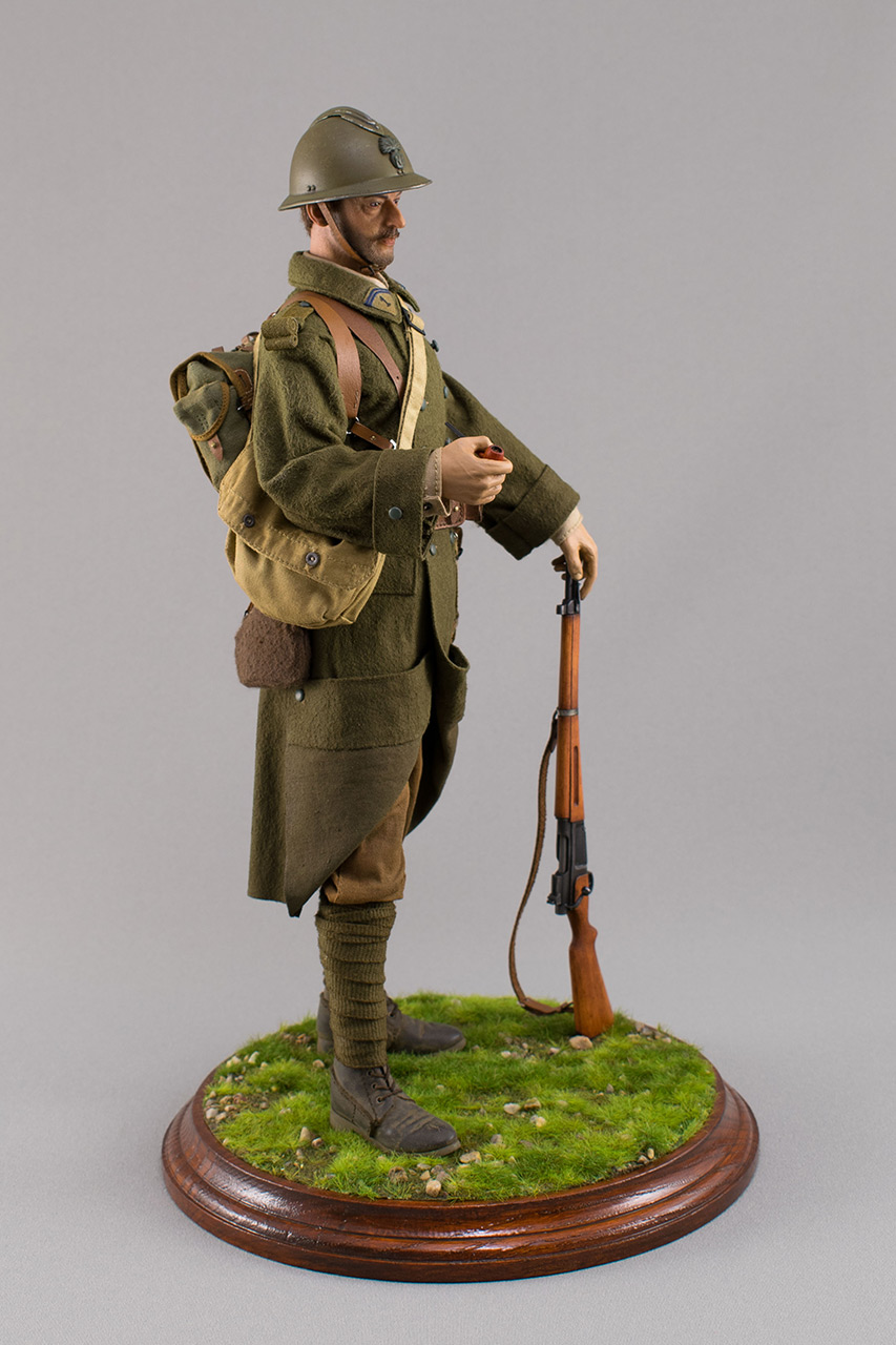Figures: Infantryman, French army, 1940, photo #3