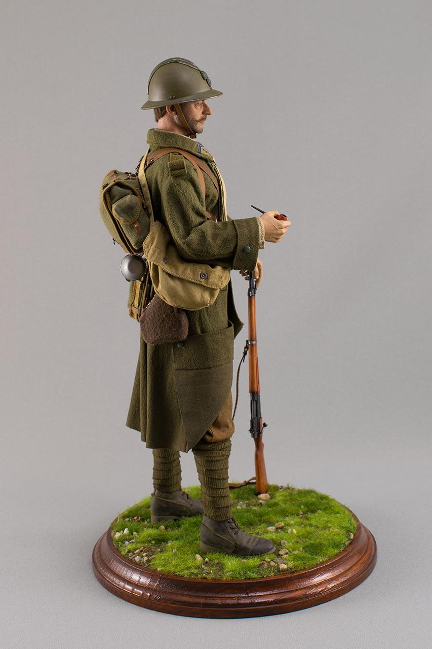 Figures: Infantryman, French army, 1940, photo #4