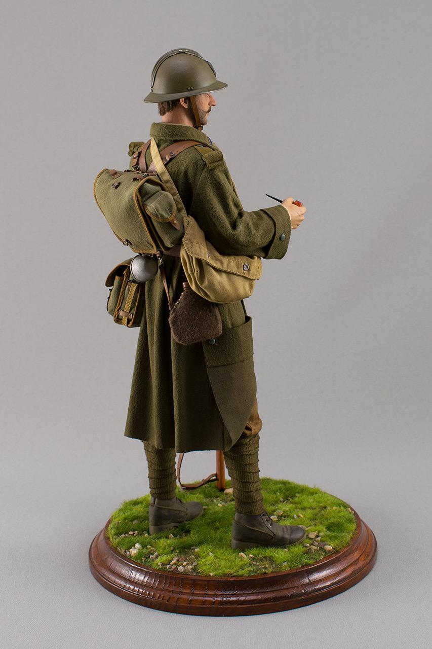 Figures: Infantryman, French army, 1940, photo #5