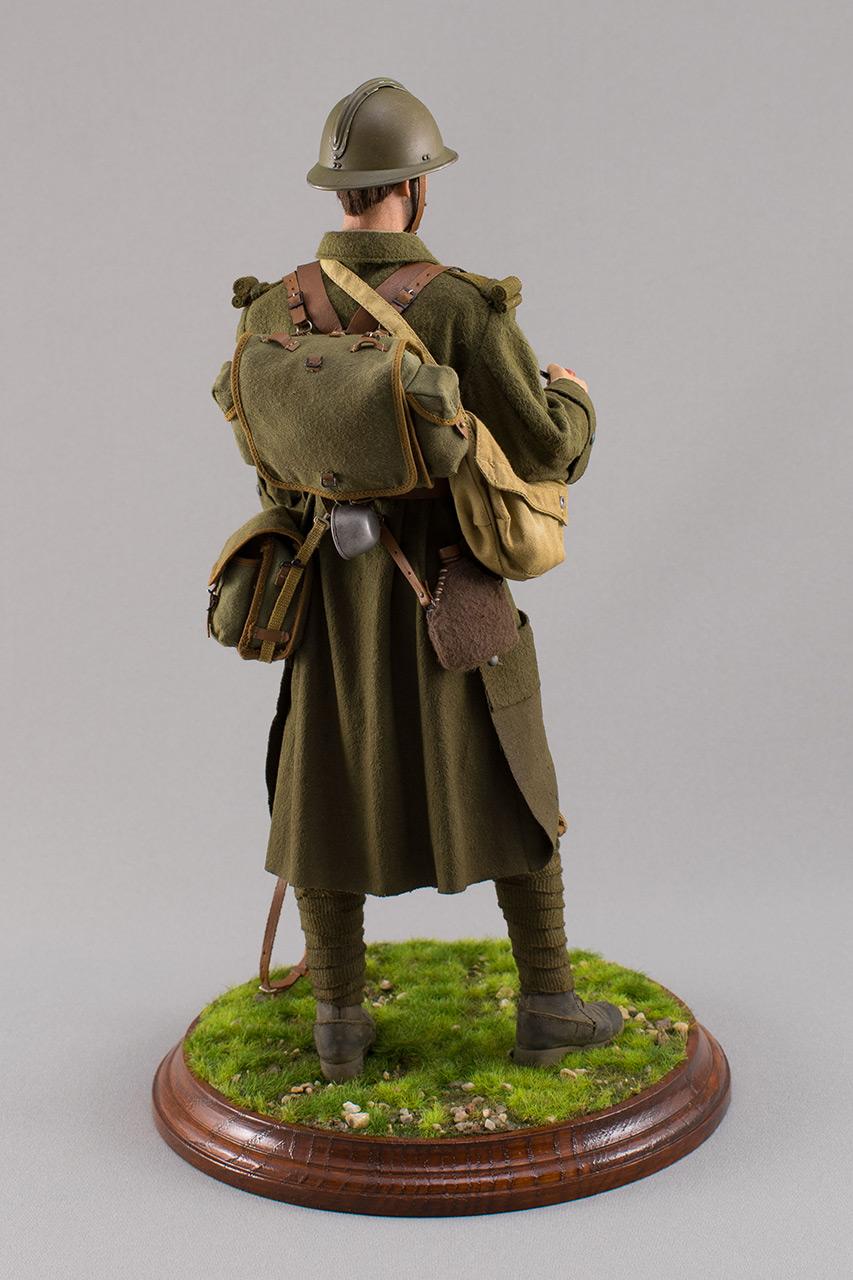 Figures: Infantryman, French army, 1940, photo #6