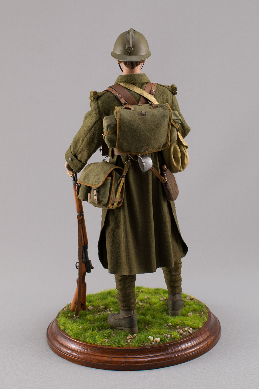Figures: Infantryman, French army, 1940, photo #7