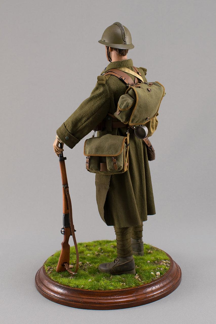 Figures: Infantryman, French army, 1940, photo #8