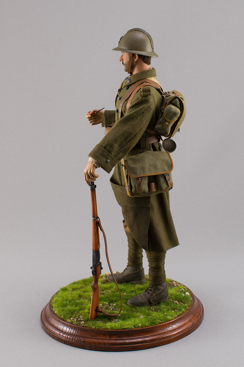 Figures: Infantryman, French army, 1940, photo #9