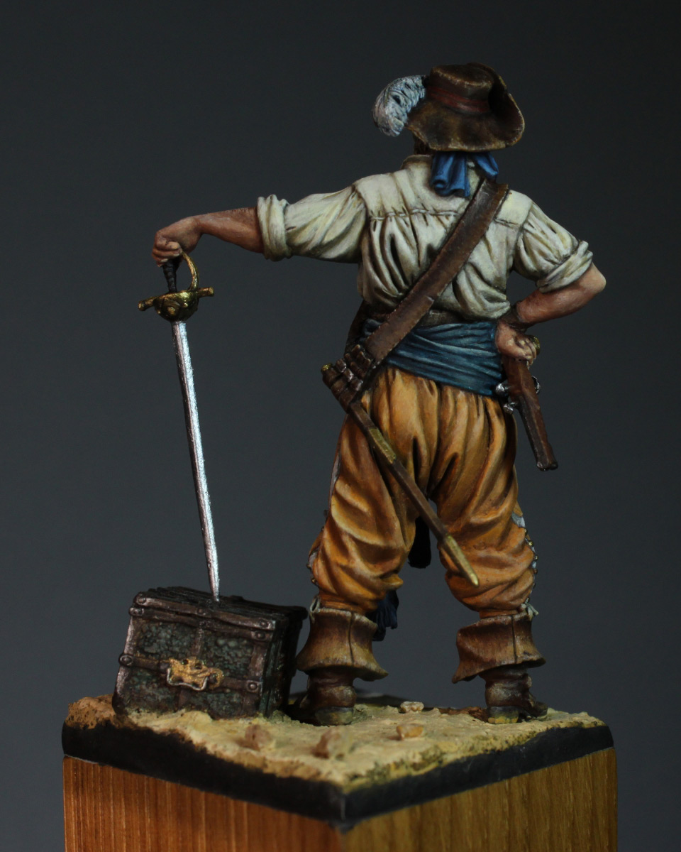 Figures: Buccaneer, 1650's, photo #6