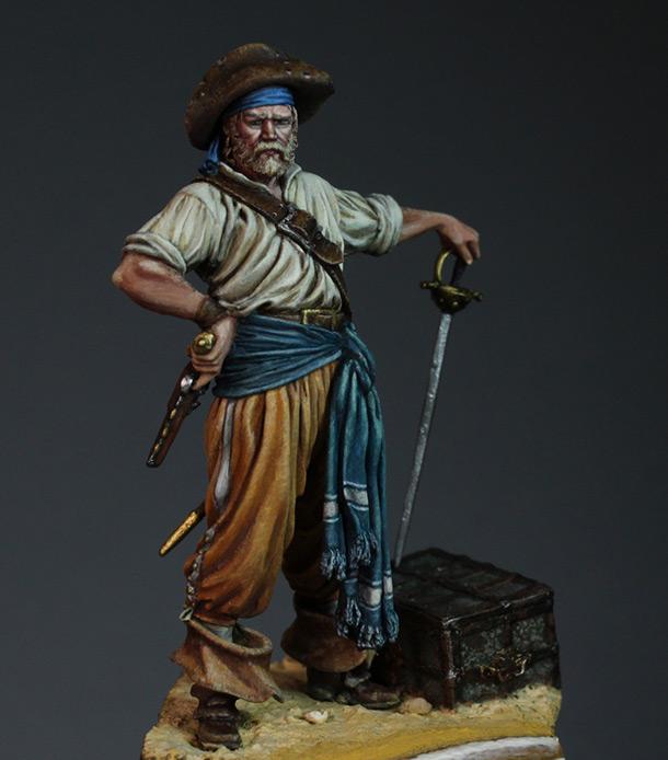 Figures: Buccaneer, 1650's