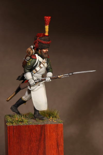 Figures: Sapper flanqueur grenadiers of the Guard 1812, photo #1