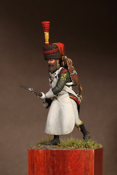 Figures: Sapper flanqueur grenadiers of the Guard 1812, photo #10
