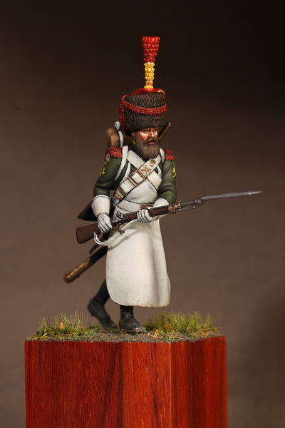 Figures: Sapper flanqueur grenadiers of the Guard 1812, photo #11